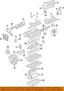 Cadillac GM OEM 06-09 XLR-Camshaft Cam 12581634