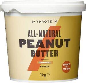 Myprotein Peanut Butter, Erdnussbutter Protein Eiweiss (1000g Eimer)