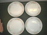 4  MIKASA FINE CHINA ''FERN ROSE L2005  SOUP/SALAD BOWLS  7 3/4''