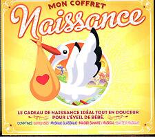 MON COFFRET NAISSANCE - LE CADEAU DE NAISSANCE IDEAL - COMPIL 5 CD NEUVE CELLO