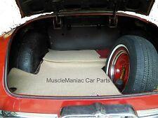 1952-1954 Hudson Coupe TRUNK MAT TanTweed Mat on Tar/Felt  52 53 54
