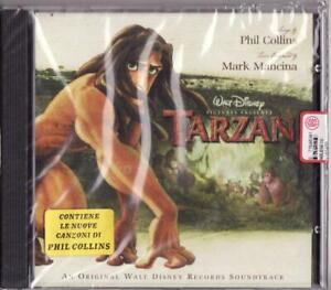 Tarzan original Want Disney Soundtrack Phil Collins / Mancina 1999  cd sigillato