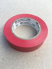 3M temflex 1500 ruban adhésif isolant électrique 15mmX10m ROUGE 1 pièce