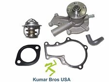 New Kubota GR2100 GR2120 GR2120B Water Pump with Return Hose & Thermostat