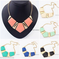 Hot Selling New Fashion Mixed Style Bib Statement Necklace Chunky Collar Party