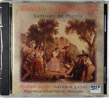 Santiago de Murcia - Danza y Diferencias, Richard Savino, New CD, Rare, OOP