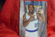 NBA Beckett Magazine Golden State Warriors Tim Hardaway Feb 1992