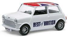 Classic mini avec drapeau de l'Union toit-Corgi Best Of British métalliques voiture gs82298