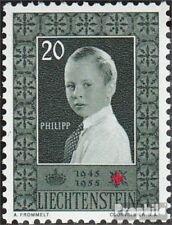 Liechtenstein 339 neuf avec gomme originale 1955 Rouge Cross