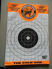 Miller Genuine Draft Shooting Targets Pad of 27