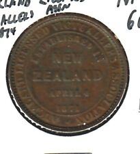 New Zealand nd(1874) token - Auckland Licensed Victuallers Association