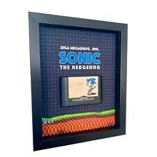 Sonic the Hedgehog Original Sega Megadrive Framed Game Art