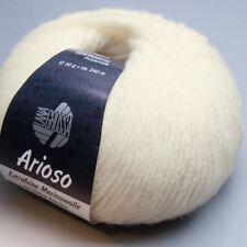 Lana Grossa Arioso 001 / 50g Wolle (15.90 EUR pro 100 g)