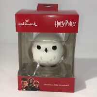 Hallmark Harry Potter Snowy Owl Christmas Tree Ornament Hedwig Wizard Sorcerers