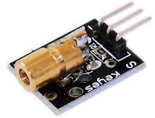 Laser sensor Module 650nm 6mm 5V 5mW Red Diode Dot Transmitter Arduino AVR PIC