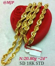 GoldNMore: 18K Gold Necklace Chain A20.8G 24 inches
