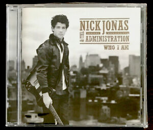 Nick Jonas & The Administration SEALED CD Who I Am *NEW/SEALED, FAST/FREE SHIP!*