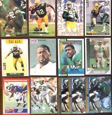 REGGIE WHITE Lot (x13) 1990 Topps Score Upper Deck Pro Set Packers Eagles