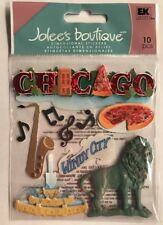 """Jolee's Boutique """"Chicago"""" Dimensional Stickers"""