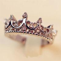 Princesse dame argent strass zircon reine couronne amant de mariage