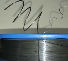 "1.0 mm (18 awg, 0.04"") Nitinol shape memory alloy 40 C (104 F) wire, by the foot"