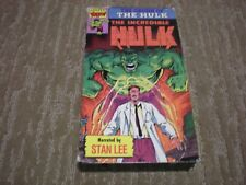 "The Incredible Hulk ""The Origin of the Hulk"" Narrated by Stan Lee (Marvel Video)"