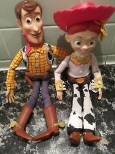 Disney Pixar Toy Story Talking Jesse and Woody Doll Pull String