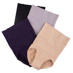 UK Womens Ladies Tummy Control Shapewear Firm Fit Slim Waist Pants Shaper Corset