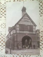 Original Vintage Postcard-Town Hall, Bridgnorth, Shropshire-Unposted