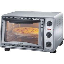 Severin TO 2045 Silber Toast-Ofen Timer einstellbar bis 60 Minuten 1.500 Watt