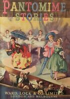 1950's Pantomime Stories Illustrated Beautiful Hardcover Rare Book Free Postage