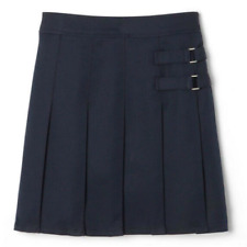 French Toast Adjustable Waist 2-Tab Scooter Skirt Uniform Navy, Khaki Sizes:4-20