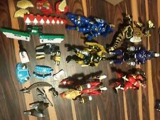 Power Rangers Zord Morphin Figure And Parts Lot