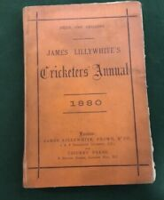 James Lillywhite's Cricketers' Annual 1880