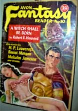 ROBERT E. HOWARD A WITCH SHALL BE BORN Avon FANTASY Reader #10 Publication 1949
