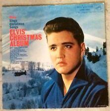 NM+ ELVIS PRESLEY LPM-1951 CHRISTMAS ALBUM LP ARMY COVER!! 1958 RCA VICTOR