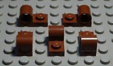 Lego Platte mit 1x Steck Pin Loch 1x2 new Dunkelgrau 5 Stück 2346