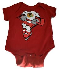 Outerstuff Nhl Infant Chicago Blackhawks Creeper Shirt 18 Months Look