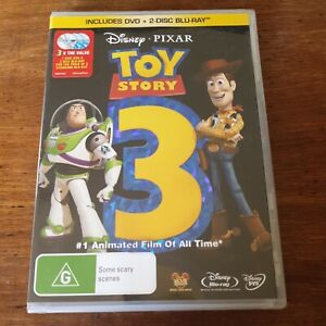 Toy Story 3 Disney Pixar DVD R4 BRAND NEW SEALED! FREE POST