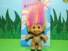 "RAINBOW TROLL - 3"" Bright of America - NEW ON CARD"