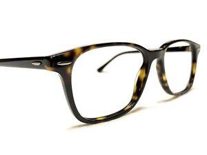 Ray Ban RB7119 2012 Unisex Tortoise Modern Rx Designer Eyeglasses Frames 55/17