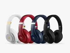 Beats By Dr. Dre Studio 2.0 Wired Headphones Authentic Red