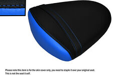 DESIGN 2 L BLUE & BLACK CUSTOM FITS SUZUKI GSXR 1000 07-08 K7 K8 REAR SEAT COVER