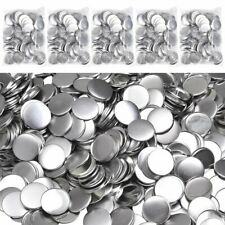 1000Pcs 25-75mm Blank Pin Button Parts Supplies for Badge Diy Making Machine