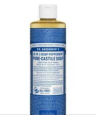 dr bonner's liquid castile soap peperment