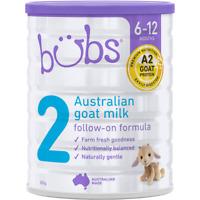 Bubs Australian Goat Milk Stage 2 Follow-On Formula Stage 2 800g-POST WORLDWIDE