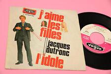 """JACQUES DUTRONC 7"""" J'AIME LES FILLES ORIG ITALY 1967 EX PROMO EDITION"""