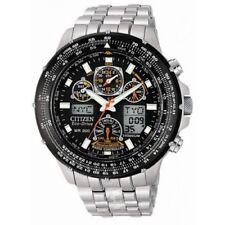 Citizen Eco-drive Skyhawk A-t De Titanio-Hipoalergénico Reloj radio controlado