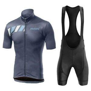 Cycling Jersey Set Mens Bicycle Shorts Maillots Bib Clothing Short Bike Jerseys