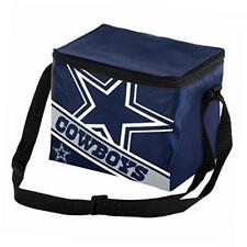 NFL Dallas Cowboys  Big Logo Striped 6 pack Cooler Lunch Box Bag Insulated